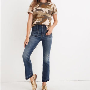 Madewell High Rise Cali Demi-Boot  Crop Size 26